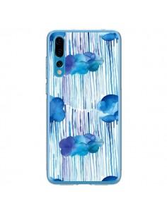 Coque Huawei P20 Pro Rain Stitches Neon - Ninola Design