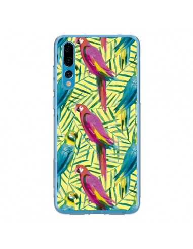 Coque Huawei P20 Pro Tropical Monstera Leaves Multicolored - Ninola Design