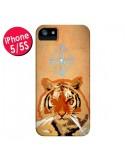 Coque Tigre Tiger Spirit pour iPhone 5 et 5S - Jonathan Perez
