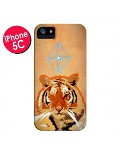 Coque Tigre Tiger Spirit pour iPhone 5C - Jonathan Perez