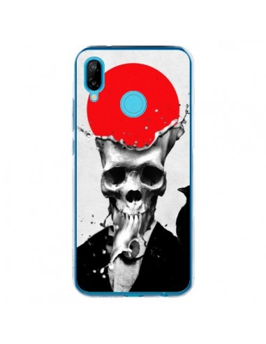 Coque Huawei P20 Lite Splash Skull Tête de Mort - Ali Gulec
