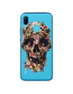 Coque Huawei P20 Lite Jungle Skull Tête de Mort Transparente - Ali Gulec