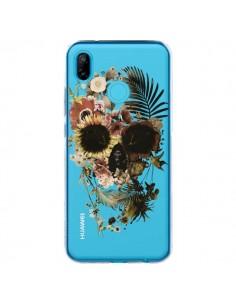 Coque Huawei P20 Lite Garden Skull Tête de Mort Transparente - Ali Gulec