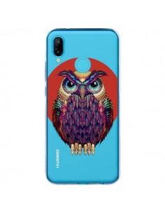 Coque Huawei P20 Lite Chouette Hibou Owl Transparente - Ali Gulec