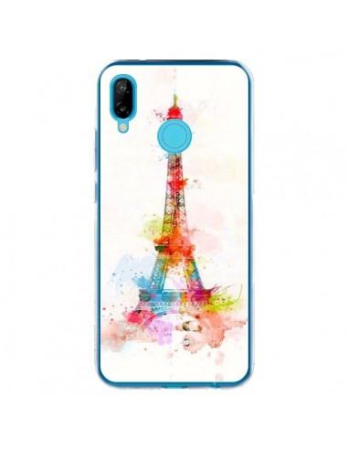 Coque Huawei P20 Lite Paris Tour Eiffel Muticolore - Asano Yamazaki