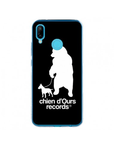 Coque Huawei P20 Lite Chien d'Ours Records Musique - Bertrand Carriere