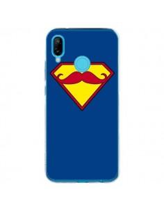 Coque Huawei P20 Lite Super Moustache Movember Superman - Bertrand Carriere