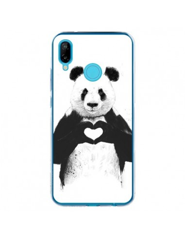 Coque Huawei P20 Lite Panda Amour All...