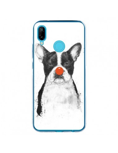 Coque Huawei P20 Lite Clown Bulldog Chien Dog - Balazs Solti