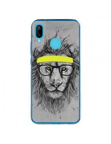 Coque Huawei P20 Lite Hipster Lion - Balazs Solti