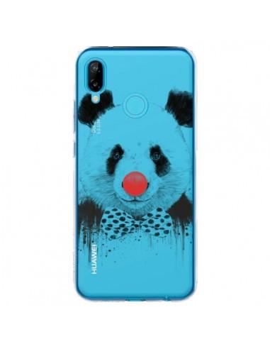 Coque Huawei P20 Lite Clown Panda Transparente - Balazs Solti