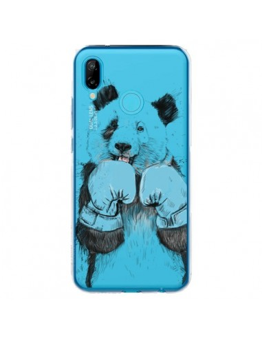 Coque Huawei P20 Lite Winner Panda Gagnant Transparente - Balazs Solti