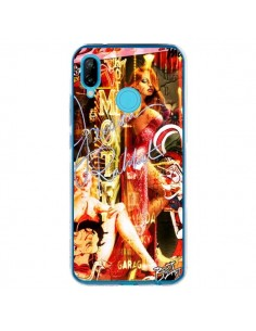 Coque Huawei P20 Lite Jessica Rabbit Betty Boop - Brozart