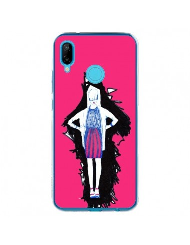 Coque Huawei P20 Lite Lola Femme Fashion Mode Rose - Cécile