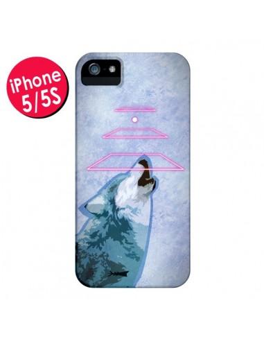 Coque Loup Wolf Spirit pour iPhone 5 et 5S - Jonathan Perez