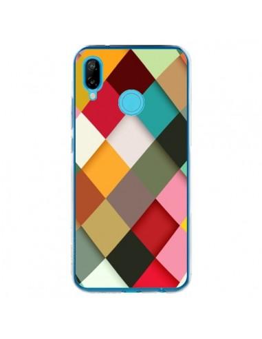 Coque Huawei P20 Lite Colorful Mosaique - Danny Ivan