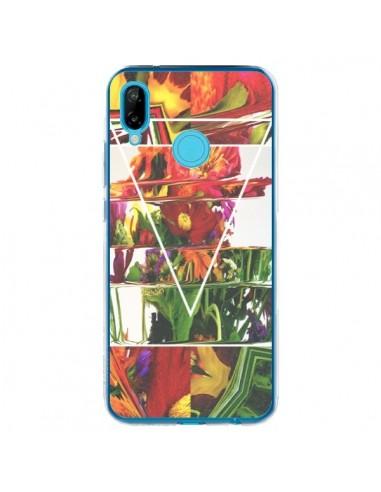 Coque Huawei P20 Lite Facke Flowers Fleurs - Danny Ivan