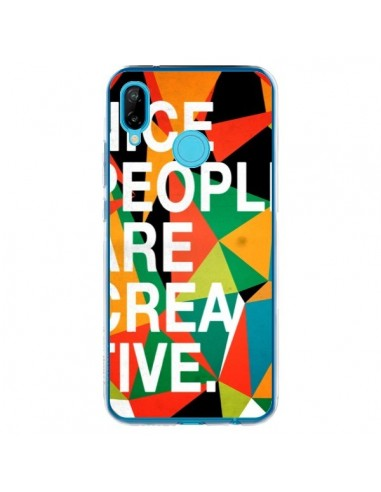 Coque Huawei P20 Lite Nice people are creative art - Danny Ivan