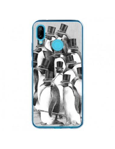 Coque Huawei P20 Lite Pingouins Gentlemen - Eric Fan