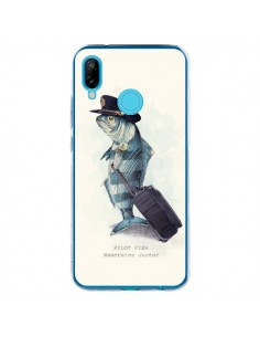 Coque Huawei P20 Lite The Pilot Fish Poisson Pilote - Eric Fan