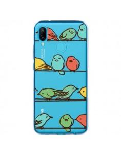 Coque Huawei P20 Lite Oiseaux Birds Transparente - Eric Fan