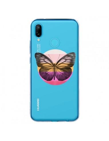 Coque Huawei P20 Lite Papillon Butterfly Transparente - Eric Fan