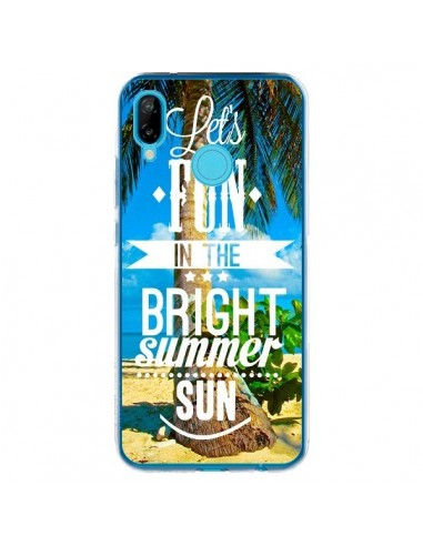 Coque Huawei P20 Lite Fun Summer Sun _té - Eleaxart