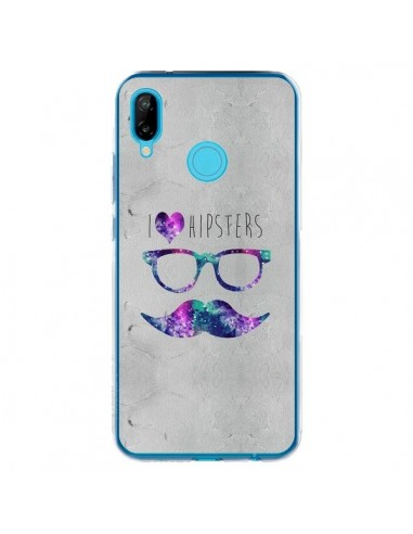 Coque Huawei P20 Lite I Love Hipsters - Eleaxart