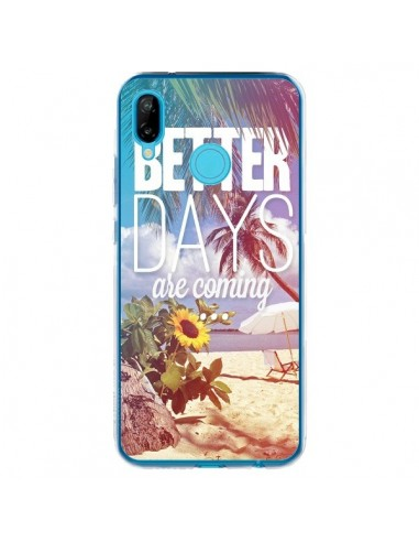 Coque Huawei P20 Lite Better Days _té - Eleaxart