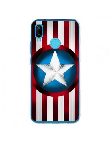 Coque Huawei P20 Lite Captain America Great Defender - Eleaxart
