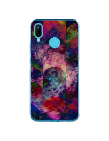 Coque Huawei P20 Lite Abstract Galaxy Azteque - Eleaxart