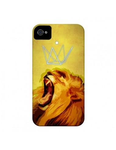 Coque Lion Spirit pour iPhone 4 et 4S - Jonathan Perez