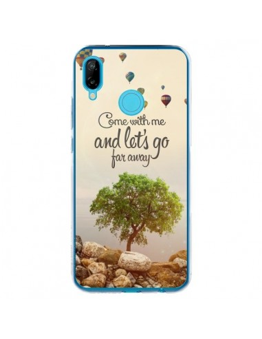 Coque Huawei P20 Lite Let's Go Far Away Ballons - Eleaxart