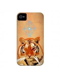 Coque Tigre Tiger Spirit pour iPhone 4 et 4S - Jonathan Perez