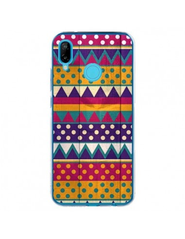 Coque Huawei P20 Lite Mexican Triangle Aztec Azteque - Eleaxart