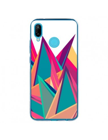 Coque Huawei P20 Lite Triangles Intensive Pic Azteque - Eleaxart