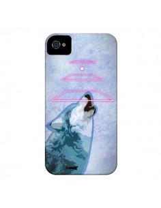 Coque Loup Wolf Spirit pour iPhone 4 et 4S - Jonathan Perez