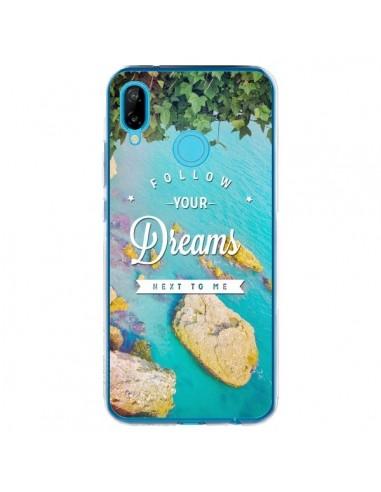 Coque Huawei P20 Lite Follow your dreams Suis tes rêves Islands - Eleaxart