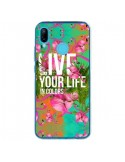 Coque Huawei P20 Lite Live your Life - Eleaxart
