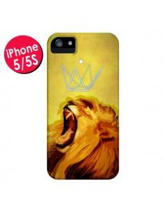 Coque Lion Spirit pour iPhone 5 et 5S - Jonathan Perez