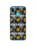 Coque Huawei P20 Lite Elephant Tournesol - Eleaxart