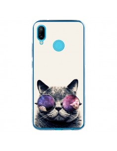 Coque Huawei P20 Lite Chat à lunettes - Gusto NYC