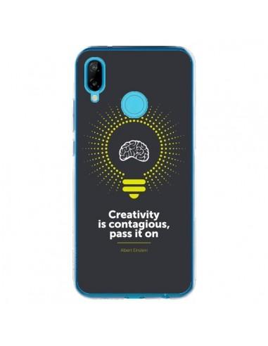 Coque Huawei P20 Lite Creativity is contagious, Einstein - Shop Gasoline