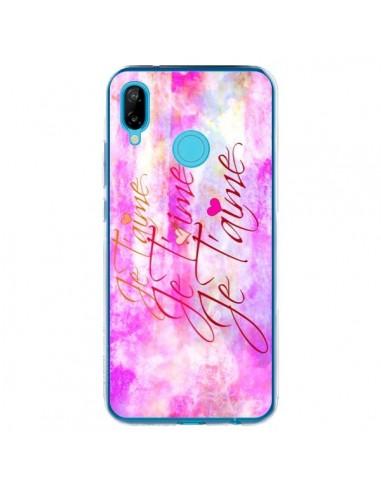 Coque Huawei P20 Lite Je t'aime I Love You - Ebi Emporium