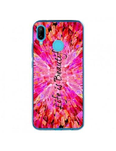 Coque Huawei P20 Lite Life is Beautiful - Ebi Emporium