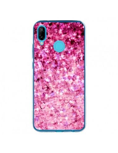 Coque Huawei P20 Lite Romance Me Paillettes Roses - Ebi Emporium