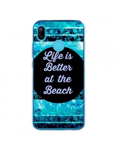 Coque Huawei P20 Lite Life is Better at The Beach - Ebi Emporium