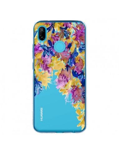Coque Huawei P20 Lite Cascade Florale Transparente - Ebi Emporium