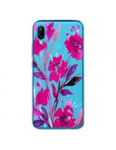 Coque Huawei P20 Lite Roses Fleur Flower Transparente - Ebi Emporium