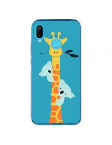 Coque Huawei P20 Lite Koala Girafe Arbre - Jay Fleck